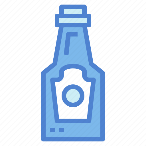 condiment, food, ketchup, sauce icon