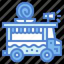 food, lollipop, sweet, sweets, truck icon