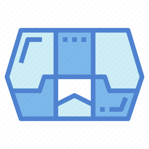 box, food, meal, packed icon
