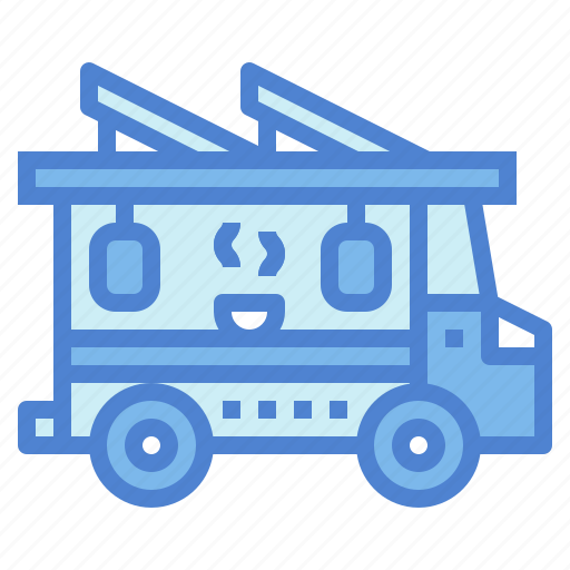 chinese, food, noodles, truck icon