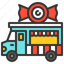 candy, food, lollipop, shop, truck, vehicle icon