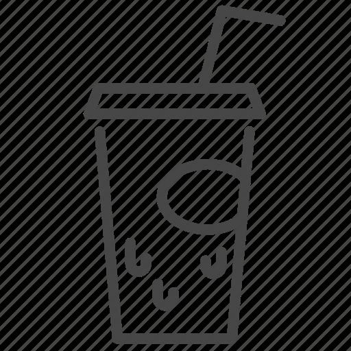 beverage, cola, fair, food, street, trailer icon
