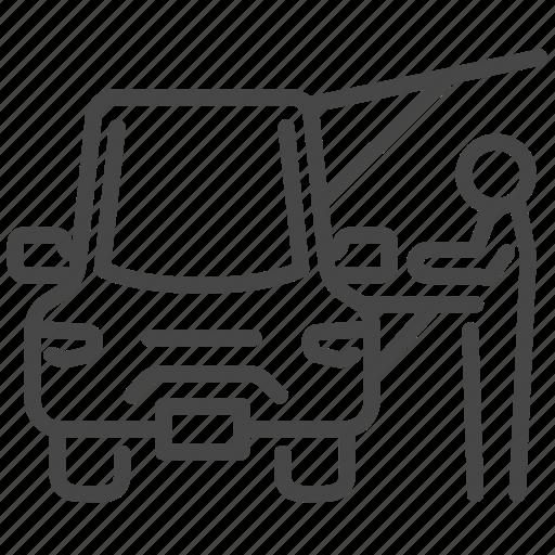 fair, flea market, food, food truck, order, trailer, truck icon