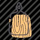 board, cutting, knife icon