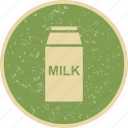 breakfast, drink, food, healthy, kitchen, liquid, milk icon