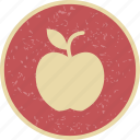 apple, eat, fruit icon