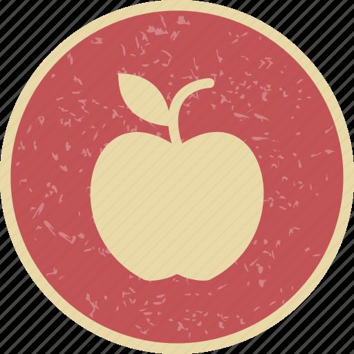 apple, eat, fruit icon