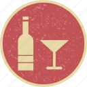 bar, bottle, champagne, wine icon