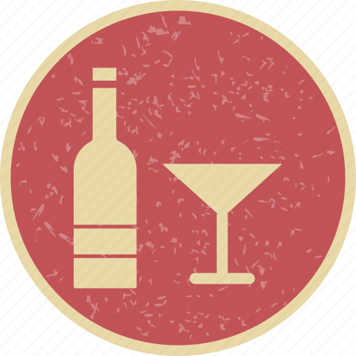 bottle, champagne, wine icon
