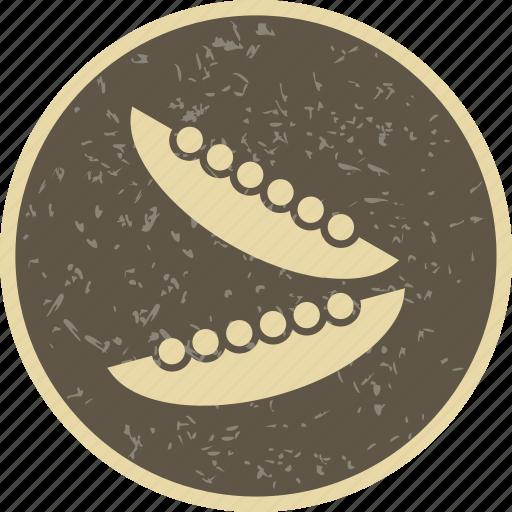 beans, green, peas icon