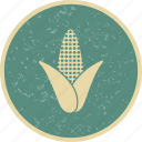 corn, grain, wheat icon