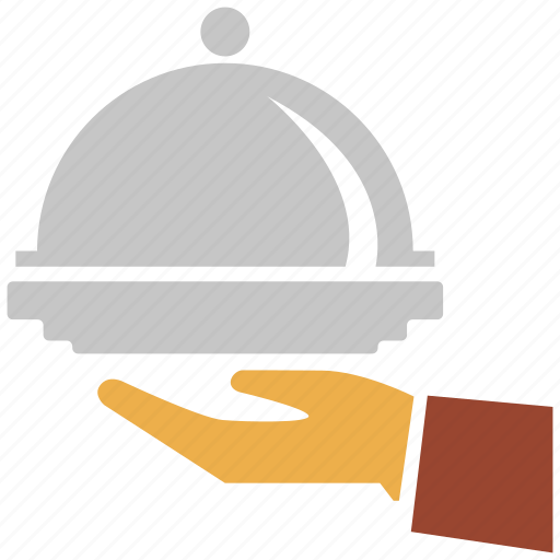 cooking, hotel, hotel service, service, waiter icon