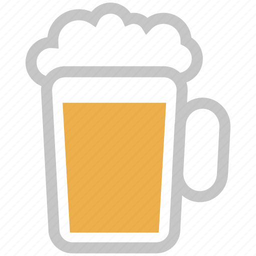 beer, beer glass, beverage, chilled beer, cold coffee, drink, juice icon