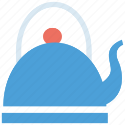 beverage, kettle, serving, tea, tea kettle, teakettle, teapot icon