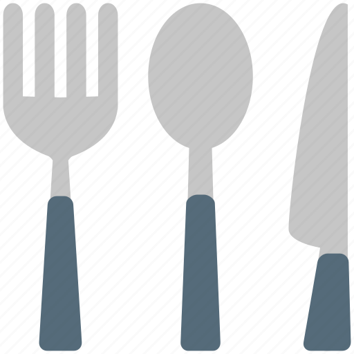 cutlery, fork, kitchen, knife, spoon, utensil icon