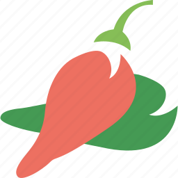 chilly, food ingredient, ingredient, pepper, vegetable icon