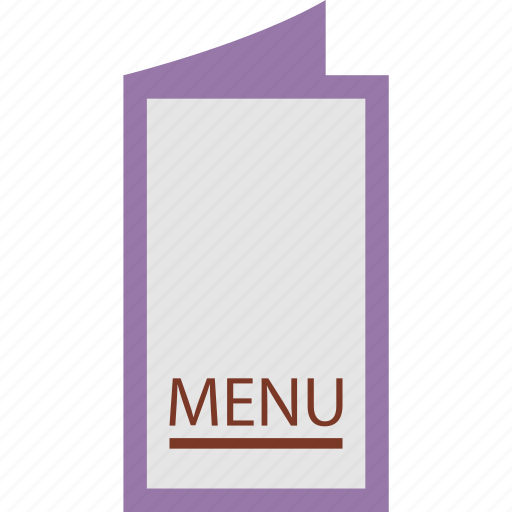 hotel menu, items, menu, menu card, order menu, restaurant menu icon