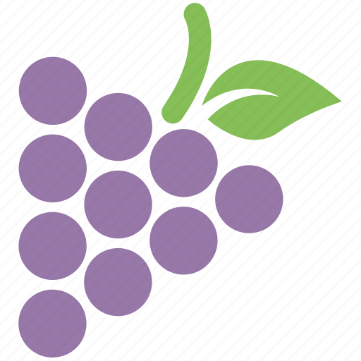 food, food and fruits, fruit, grapes, grapes fruit icon
