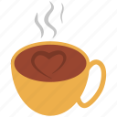 beverage, coffee, coffee cup, cup, drink, hot tea, tea icon
