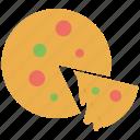 fast food, pizza, pizza slice, food, slice