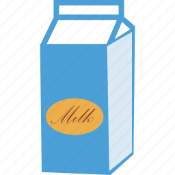 beverage, bottle, drink, milk, milk bottle, milk box, milk pack icon