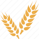 crop, grain, wheat, wheat crop, wheat grain icon