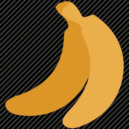 banana, food, fruit, set of banana icon