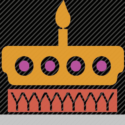 birthday, birthday cake, cake, dessert, food, party cake, sweet icon