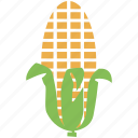 cob, corn, food, maize icon