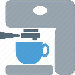 beverage, coffee, coffee machine, cup, machine icon