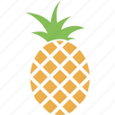 fruit, pineapple, food