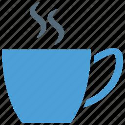coffee, hot coffee, tea, tea cup icon