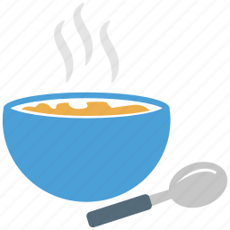 bowl, drink, food bowl, soup icon