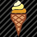 cone, cone ice cream, dessert, ice cream, ice cream cone