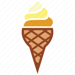 cone, cone ice cream, dessert, ice cream, ice cream cone icon