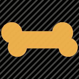 bone, dog, dog bone, food, pet food icon