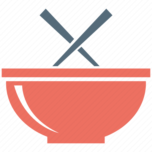 bowl, chinese, chopsticks, food, noodles icon