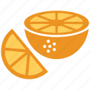 lemon, lemon slice, lime, lime slice icon