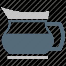 jug, kettle, tea, tea kettle icon