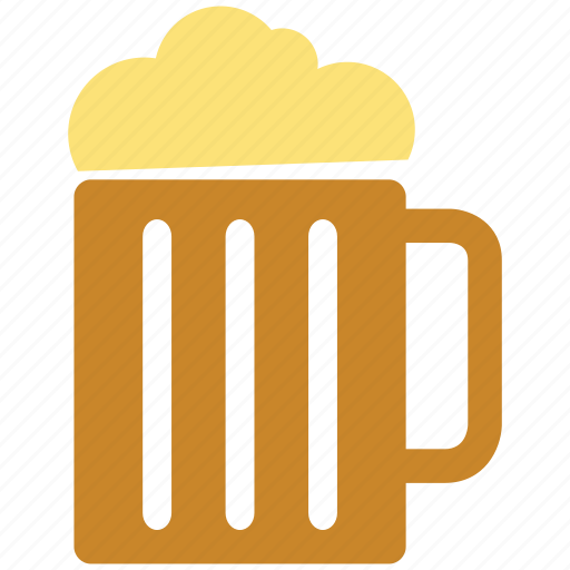 beer, beer glass, coffee cup, cold coffee icon