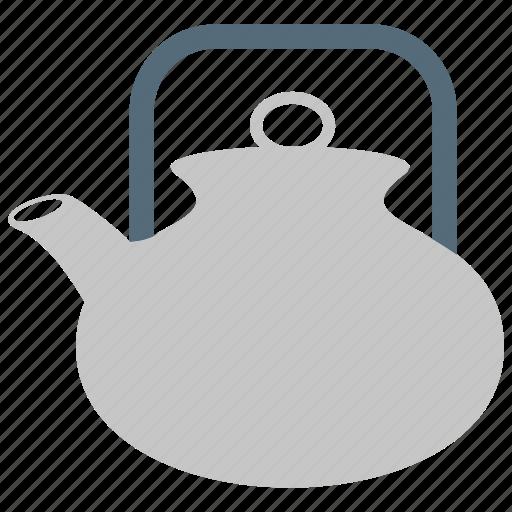 kettle, tea, tea kettle, teakettle, teapot icon