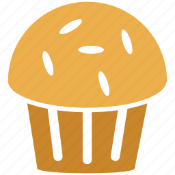 cake, cup cake, dessert, sweet icon