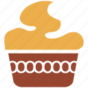 cake, dessert, pastry, sweet