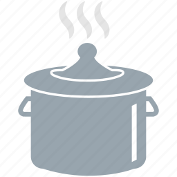 cooking, cooking pot, hot cooking pot, kitchen icon