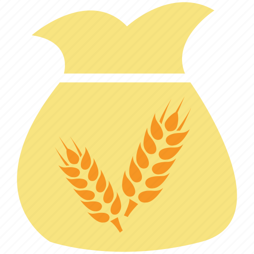 grain, sack, sack of grain, sack of wheat, wheat icon