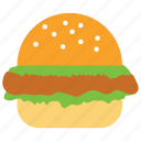 burger, cheese burger, chicken burger, fast food, hamburger, sandwich icon