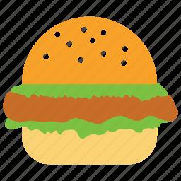 burger, cheese burger, chicken burger, fast food, hamburger, sandwich icon