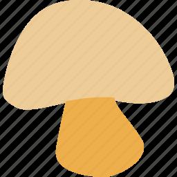 food, food ingredient, mushroom, mushroom piece icon