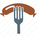 barbecue, bbq, eating, food, fork icon