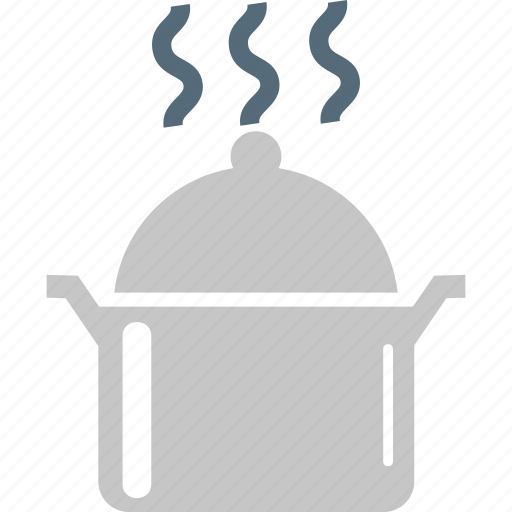 cook, cooking, food, food pot, hot food, kitchen, platter icon